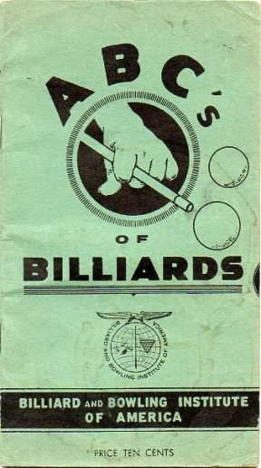 Booklet ABC's of Billiards