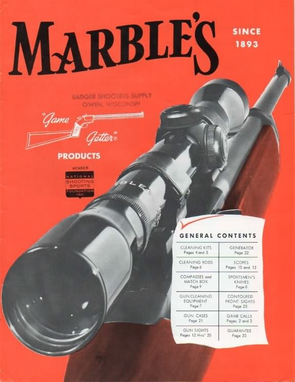 marbles catalog 1963