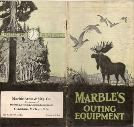 Marbles 1925 catalog