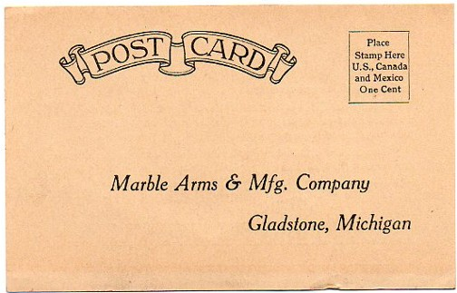 marble arms postcard