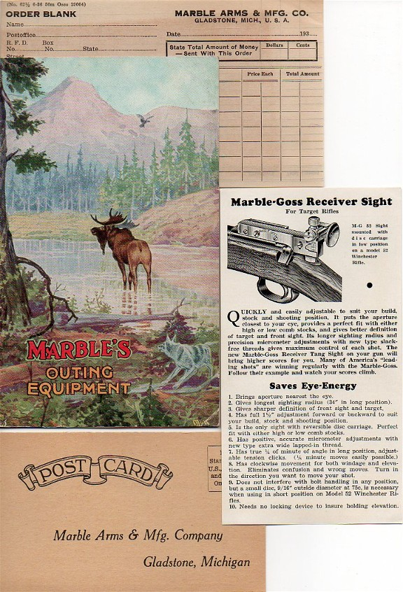 Marbles 1936-37 catalog