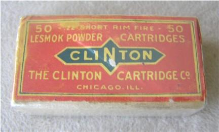 Clinton 22 short Ammunition box