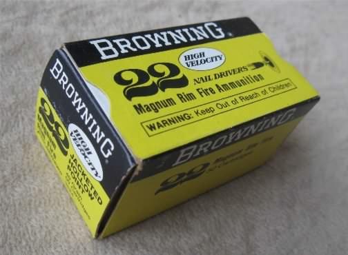 browning 22 magnum ammunition