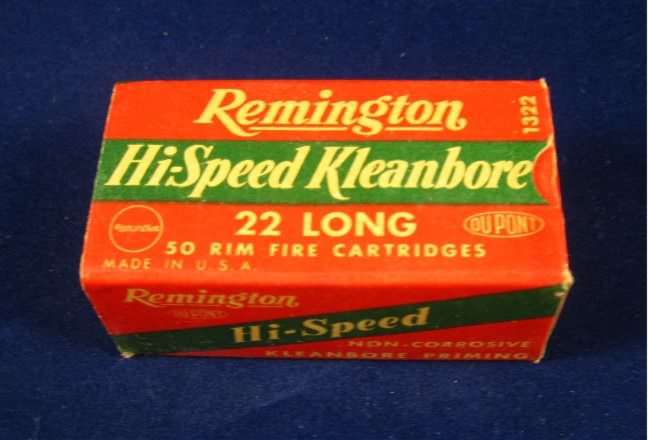 remington ammunition 22 long
