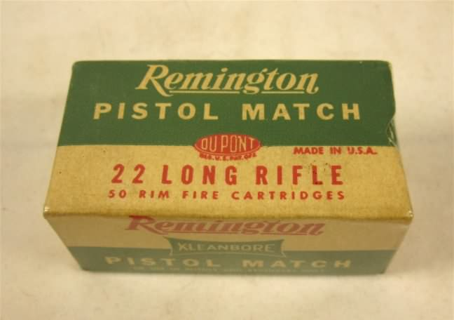 remington 22 pistol match