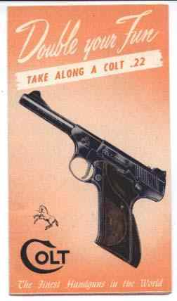 "Colt brochure ""Double Your Fun"""