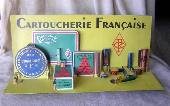 Cartoucheie Francaise diecut display