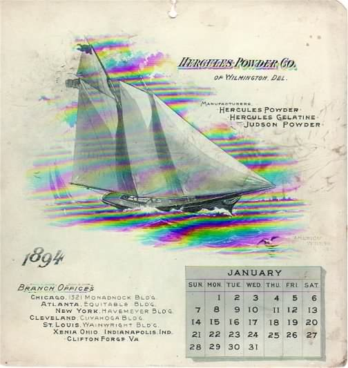 hercules cal 1894 january