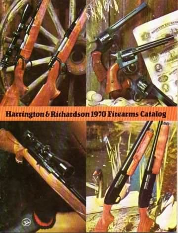 Harrington & Richardson gun catalog