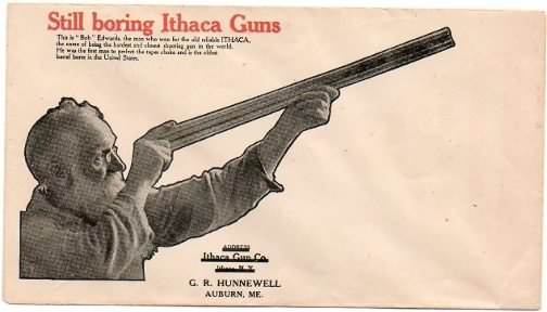 Ithaca Gun envelope cover