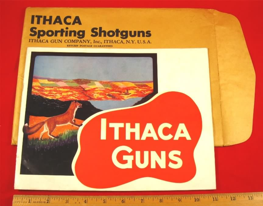 ithaca cat 1947 w/env