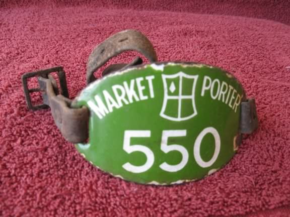 market porter arm badge