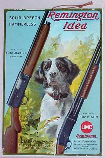 Remington-UMC Advertising Memorabilia