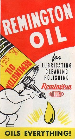 Remington gun oil brochure