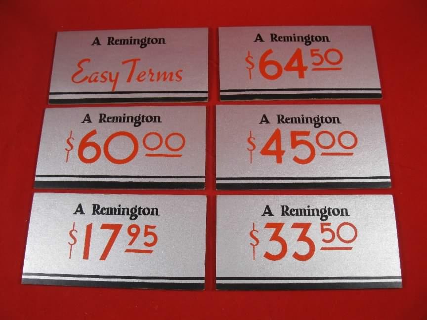 Remington Arms Advertising & Memorabilia for sale