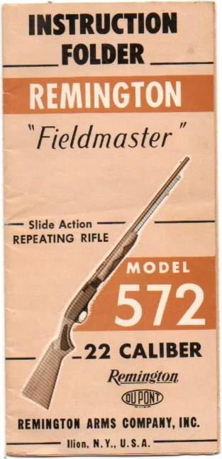 remington model 572 instructions