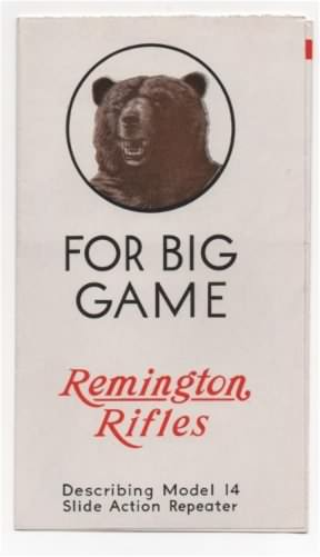remington Model 14 brochure