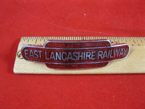 railway hat badge