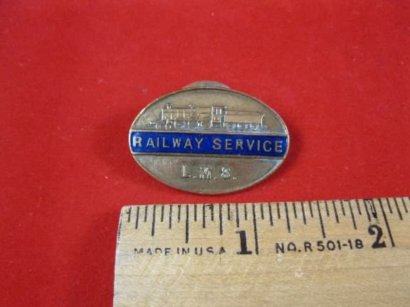 LMS lapel badge