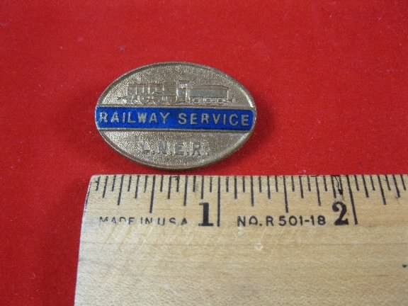 LNER lapel badge