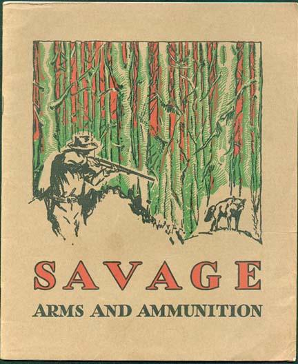 savage 1934 gun catalog